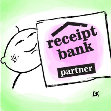 Futurebooks make Receipt Bank silver partner